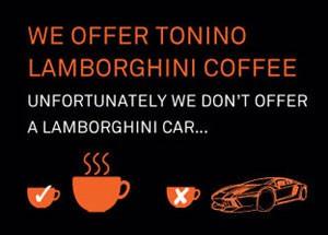 TONINO LAMBORGHINI COFFEE