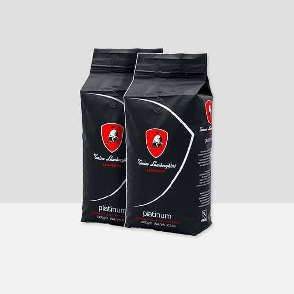 Tonino Lamborghini 2 Bags Platinum Coffee Beans (2x1kg)