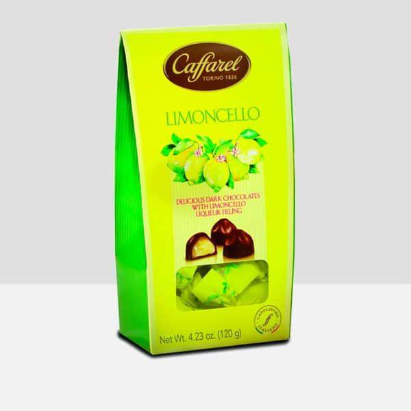 Limoncello Ballottin dark chocolate with liqueur filling