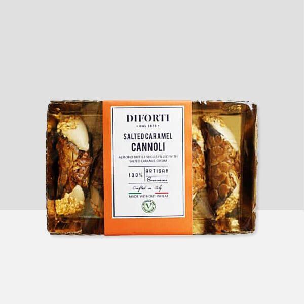 Gluten-free Cannoli Salted Caramel
