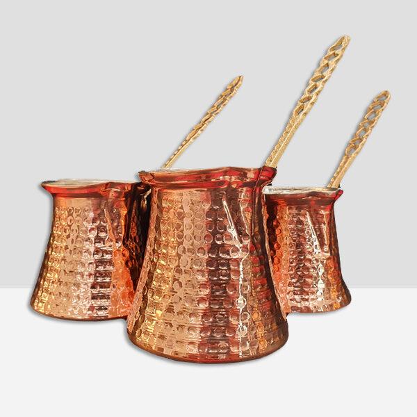 Ibrik / Cezve – Turkish Copper Coffee Pot 100% Handmade (3 sizes)